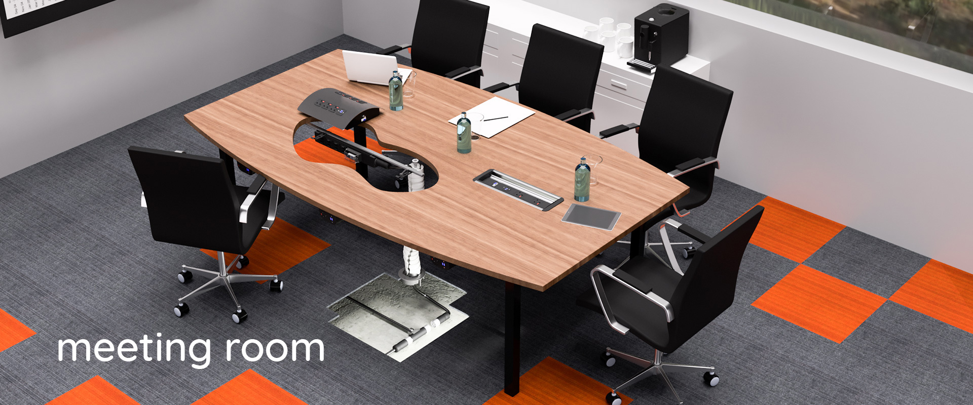 Outstanding Meeting Room Board Room Table Power Data Usb Charging Home Interior And Landscaping Ponolsignezvosmurscom