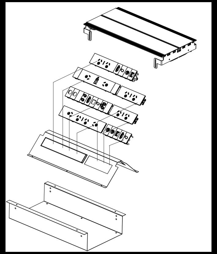 AxxessPLUS DUO in desk box OE Elsafe