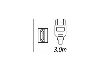 HDMI, audio visual desk box, floor box OE Elsafe