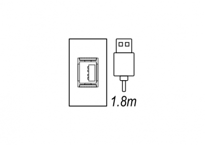 USB audio visual desk box, floor box OE Elsafe
