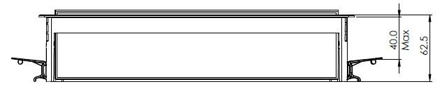 Partner indesk box side dimensions OE Elsafe