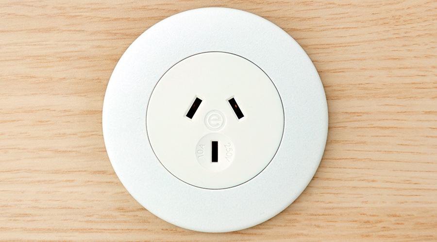 PIP-White-OE-Elsafe-AC-Socket