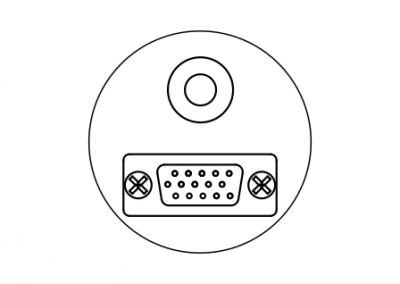 VGA audio visual OE Elsafe