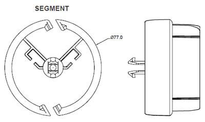 Pathfinder vertical cable management OE Elsafe
