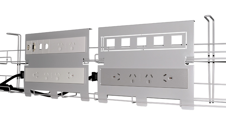 Runner Cable Management System Under Desk Power Data Oe