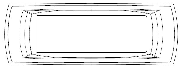 Duet thick panel frame OE Elsafe