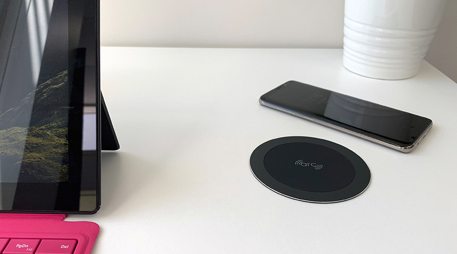 ARC-80 Black WIreless Fast Charger OE Elsafe 3