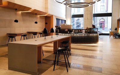 Project: Telstra Foyer Café