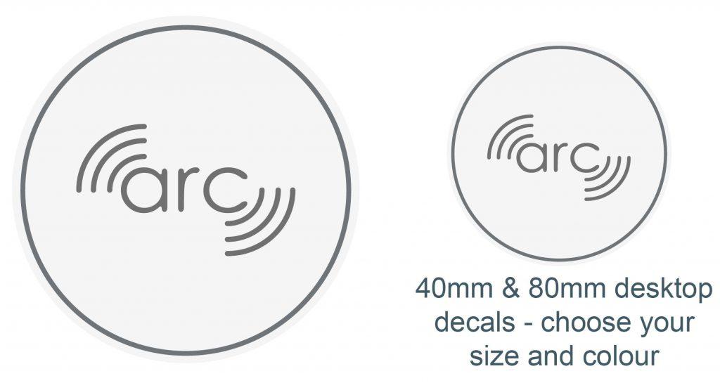 ARC-H Hidden Wireless Charger Decal